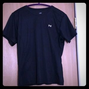 Under Armour Short Sleeve Tee, Size Large